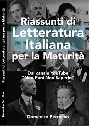 Riassunti di Letteratura Italiana - Maturità