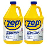 Zep Antibacterial Disinfectant Cleaner 128 fl oz. Kills 99.99% of Germs - 60 Second Kill Time (Case of 2)