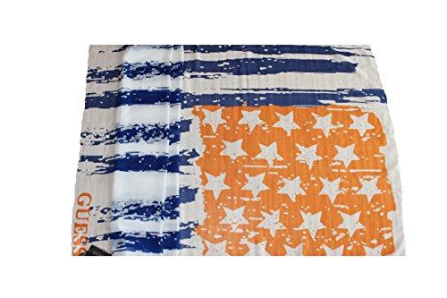 Guess - Pañuelo de cuello para mujer, multicolor