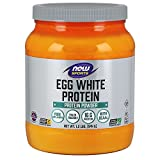 NOW Sports Nutrition, Egg White Protein, 16 G With BCAAs, Unflavored...
