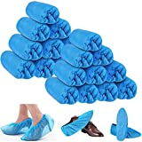 Sfee 200 Pack Disposable Shoe Covers CPE Waterproof Slip Resistant Hygienic, Non Slip, Durable,…