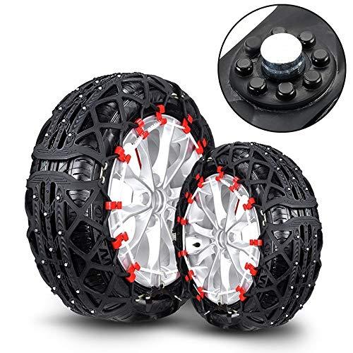 Cadenas de Nieve para neumáticos Cadenas L7 Coche de Goma de neumáticos de...