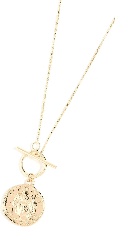 SHASHI Women's Moneta Necklace