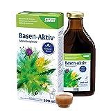 Salus Basen-Aktiv - elixir mineral de hierbas para diluir – Complemento alimenticio sin conservantes, vegano – 1 x 500 ml = aproximadamente 16 latas diarias