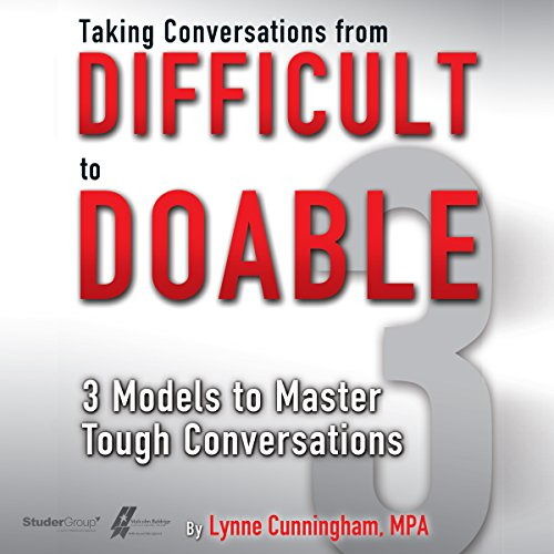 Taking Conversations from Difficult to Doable audiobook cover art