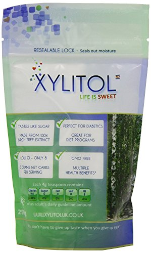 Xylitol Xylitol Sweetener Pouch 250G by Xylitol