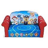 Marshmallow Furniture Children's 2-in-1 Flip Open Foam Compressed Sofa PAW Patrol
