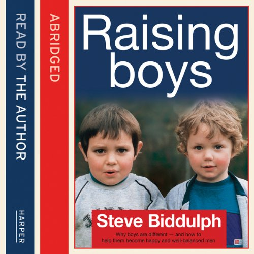 Steve Biddulph's Raising Boys cover art