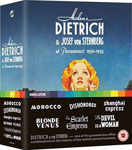 Blu-ray1 - Marlene Dietrich Boxset (1 BLU-RAY)