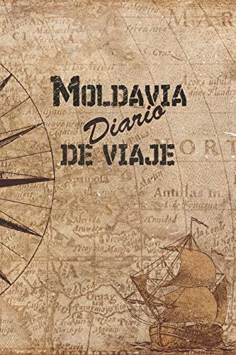 Moldavia Diario De Viaje: 6x9 Diario de viaje I Libreta para listas de tareas I Regalo perfecto para tus vacaciones en Moldavia