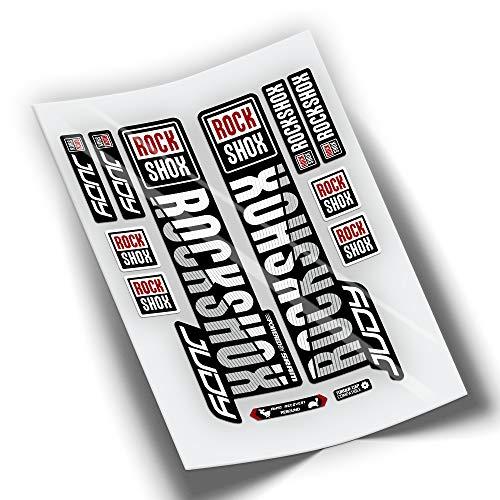 PEGATINEA Autocollants Fourche vélo ROCKSHOX Judy 2019 WP101