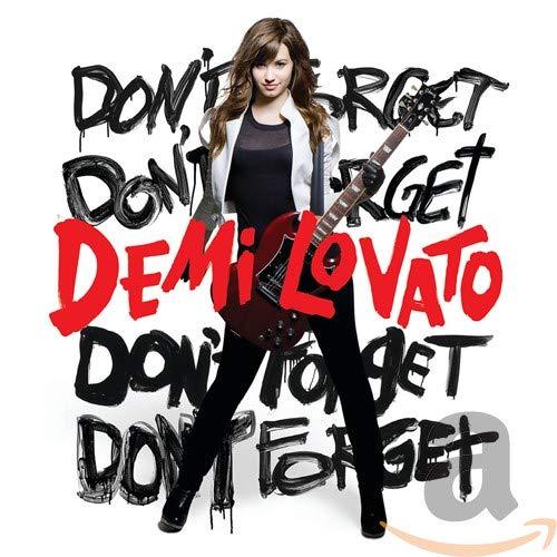 Demi Lovato - Don't Forget - CD