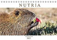 NUTRIA mit Nachwuchs (Tischkalender 2022 DIN A5 quer): Nutria hautnah (Monatskalender, 14 Seiten )