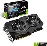 Asus Dual GeForce GTX 1660 6GB OC Edition GDDR5 EVO, Scheda Video Gaming con Dissipatore Biventola per Gaming FullHD