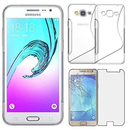 ebestStar - Funda Compatible con Samsung J3 2016 Galaxy SM-J320F Carcasa Silicona...