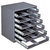 Durham Slide Cabinet - 15-1/4 X11-3/4 X16-1/4-6-Drawer Cabinet