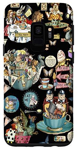 Galaxy S9 Alice in Wonderland collage Case