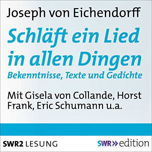 Schläft ein Lied in allen Dingen audiobook cover art