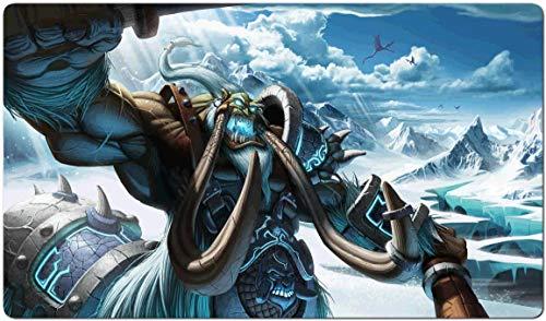 150651 - World of Warcraft-Brettspiel MTG Spielmatte Tischmatte MTG playmat Größe 60x35cm Mousepad Spielmatte für TCG Magic The Gathering