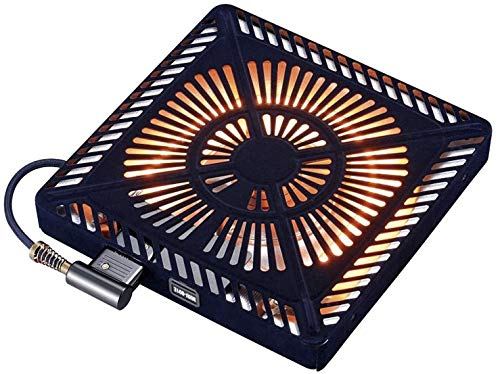 メトロこたつ用取替えヒーターU字型カーボンヒーター手元温度コントロール式MCU-501E(DK)ブラック