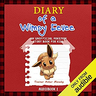 Pokemon Go: Diary of a Wimpy Eevee audiobook cover art