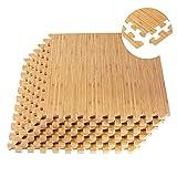 Q-Star Schutzmatten 20er Set Fitness Matte Unterlegmatten Bodenschutz Matten Puzzlematte Spielmatte...