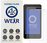 A1C WEAR - 9H Flexible Glass Screen Protector for Omnipod Dash Receiver PDM - Won't Crack or Chip - Anti-Scratch Anti-Fingerprint - 2 Pack