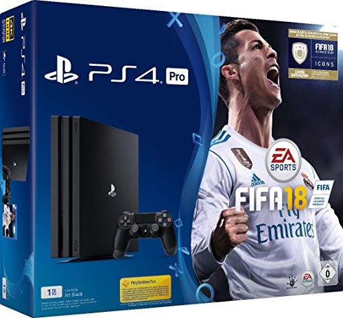bester Test von ps4 pro cuh 7016b PlayStation 4 Pro (1 TB) -Konsole einschließlich FIFA 18
