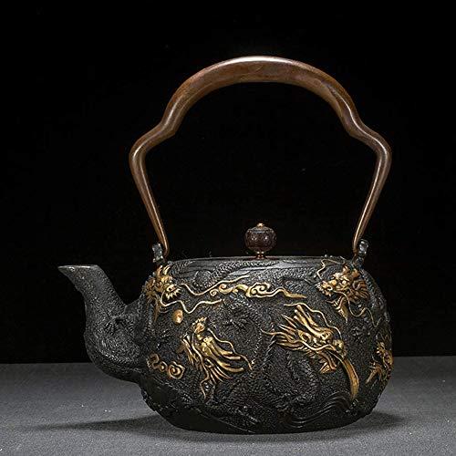 Gietijzeren Handgemaakte Theepot Japanse Oude Ijzeren Pot Elektrische Keramische Kookplaat Theeservies Thee Kokend Water