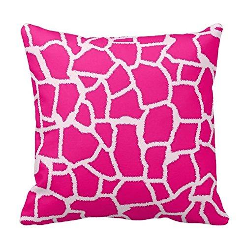 Decorativa cuadrada animales piel impresa fundas de almohada