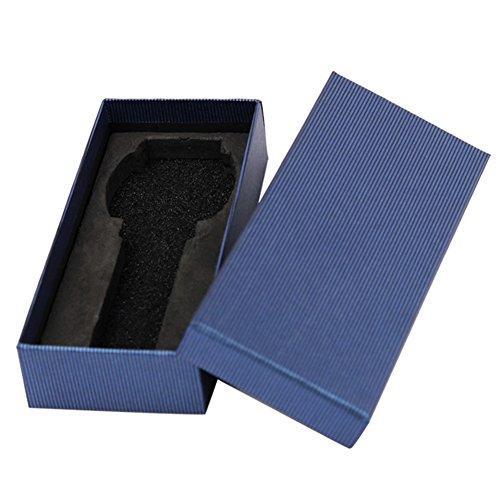 Demarkt–Relojes Caja Buzón Reloj maletín 14.5* 6.5* 3cm Azul