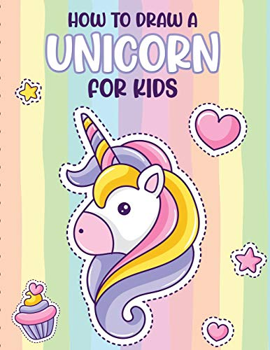 How To Draw A Unicorn For Kids: Learn To Draw   Easy Step By Step   Drawing Grid   Crafts and Games