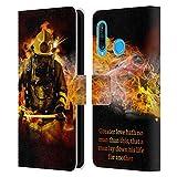 Head Case Designs sous Licence Officielle Jason Bullard Pompier 2 Pompier Coque en Cuir à...