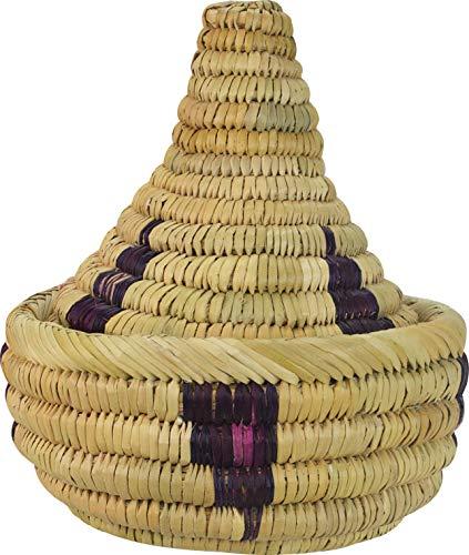 Maison Andaluz Tajine, groß, marokkanisches natürliches Spiral, Tajine, 35 x 36 cm