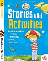Read with Oxford: Stage 2: Biff, Chip and Kipper: Stories and Activities: Phonics practice, writing, drawing, rhyming and more