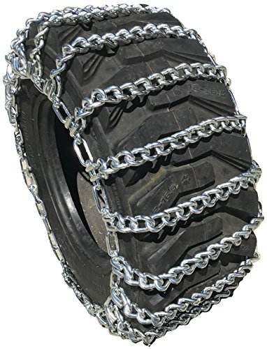 TireChain.com 355/80R20 355/80 20 Tractor Tire Chains Set of 2