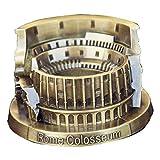 EzzySo Coliseo Cenicero, Cigarrillos cenicero de Cubierta Holder al Aire Libre de Ceniza para Fumadores Regalo para los Hombres