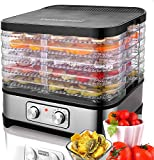 Best Meat Dehydrators - Food Dehydrator Machine, 7-Tray Fruit Dehydrators with Temperature Review