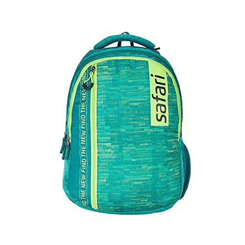 SAFARI 46 cms Green Laptop/Casual/School/College Backpack (BUZZER19CBGRN)