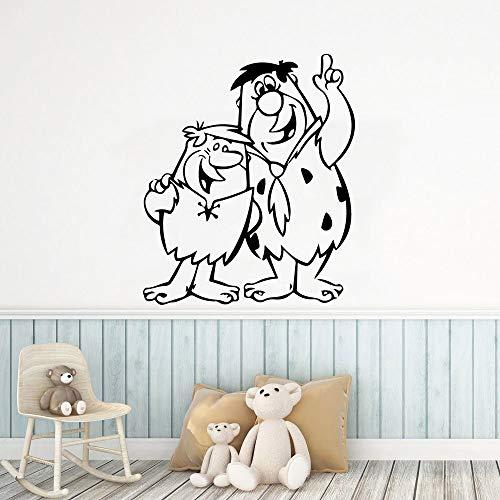AKmene Pegatinas de Pared de Vinilo de Dibujos Animados Pegatinas de Arte para la decoración del hogar de la habitación de los niños57X67CM