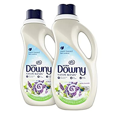 Downy Nature Blends Liquid Fabric Conditioner & Softener, Honey Lavender, 2 Count