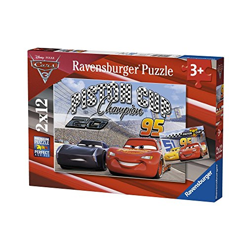 Ravensburger Italy 07609 3 - Puzzle Disney Cars