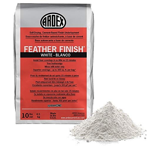 Ardex Feather Finish White/Blanco Self-Drying Cement Based Bag 10 Lbs (1)