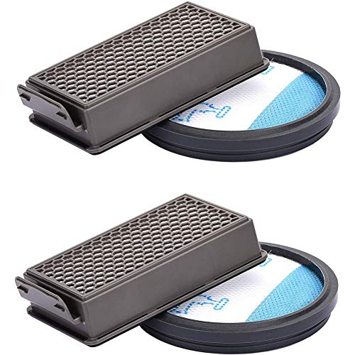 INTVN Kit di Filtri per Rowenta Gli Aspirapolvere,Compact Power Cyclonic RO3715,RO3795,RO3798Kit Ricambi per Aspirapolvere Accessori