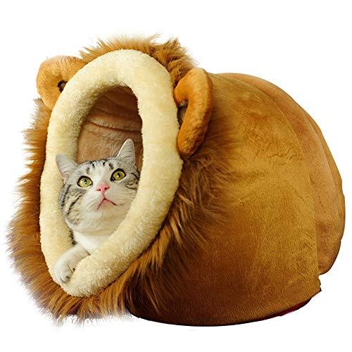KEZIO Vivienda del Animal doméstico, casa del Gato Lavable, Arena for Gatos, Perrera Equipo para Mascotas (Color : T2, Size : XL)