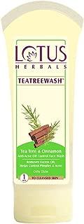 Lotus Herbals Tea Tree Wash 80g
