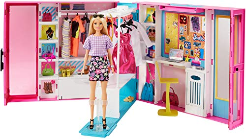 Barbie- Dream Closet w/out Doll (Extra Fashions) SIOC, GBK10