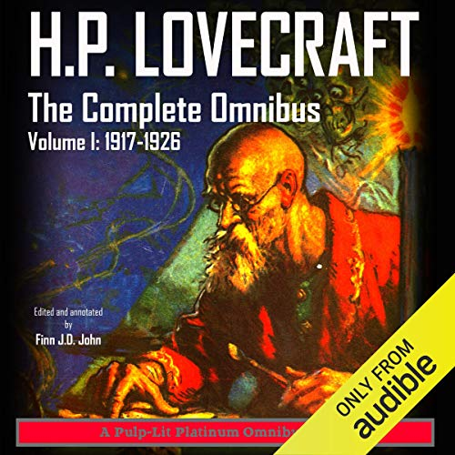 Page de couverture de H.P. Lovecraft: The Complete Omnibus Collection, Volume I: 1917-1926