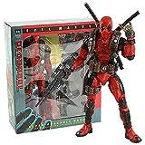 RuiXi Deadpool Ultimate Figura de acción de 8 pulgadas escala 1:10 muñeca épica coleccionista (color NECA Deadpool box)