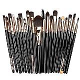 20pcs makeup brush set eyeshadow foundation liquid eyeliner eyelashes lip makeup tools cosmetic beauty tool set hot sale,4